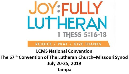 LCMS National Convention - Good Shepherd Church - Cedar Park, TX